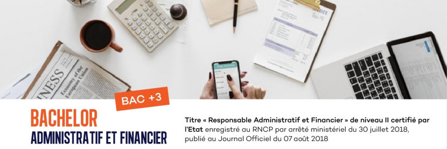 BACHELOR Administratif ET FINANCIER